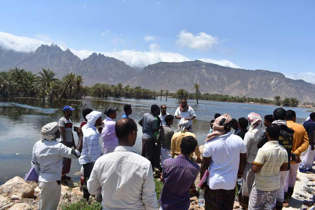 Visiting Sirhen Lagoon to watch birds