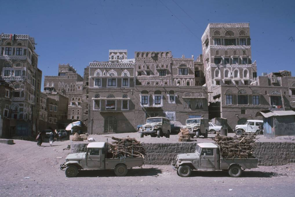 Sana'a and its wonderful architecture in 1985